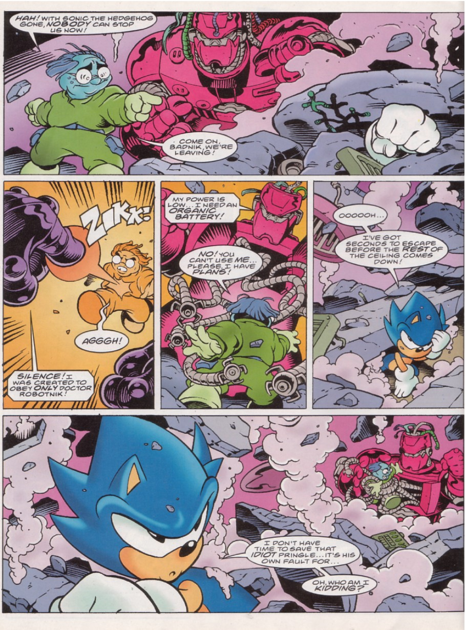 Sonic - The Comic Issue No. 140 Page 7