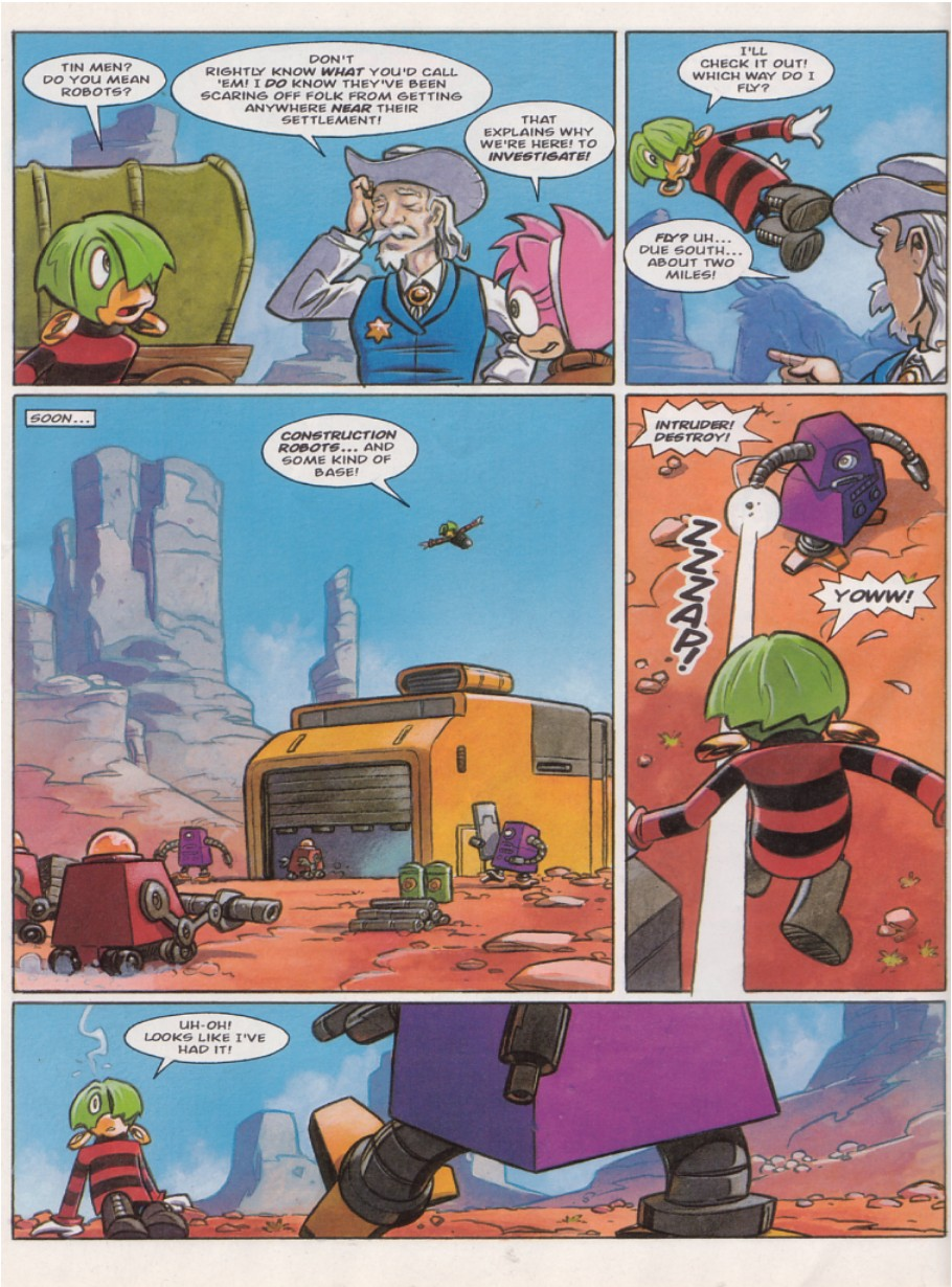 Sonic - The Comic Issue No. 140 Page 11