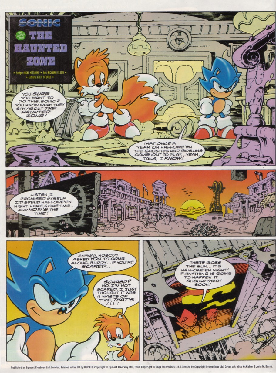 Sonic - The Comic Issue No. 141 Page 1