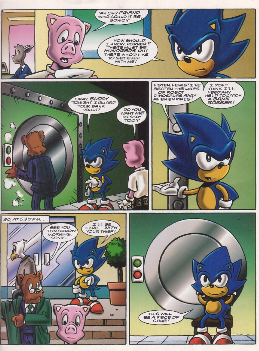 Sonic - The Comic Issue No. 142 Page 2