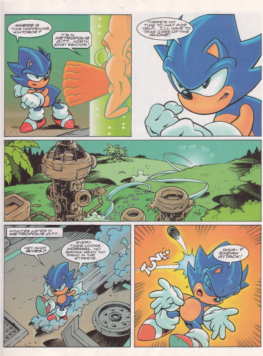Sonic - The Comic Issue No. 143 Page 2