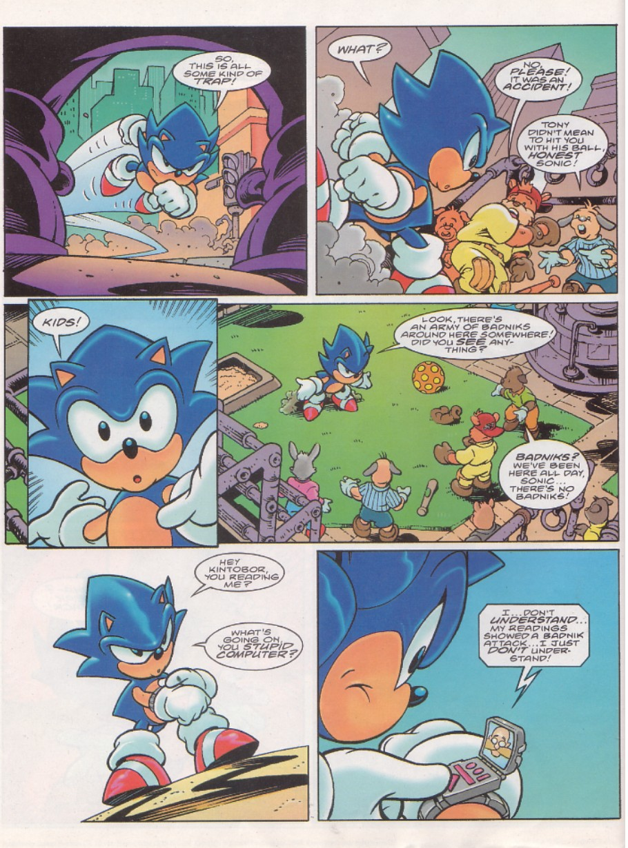Sonic - The Comic Issue No. 143 Page 3