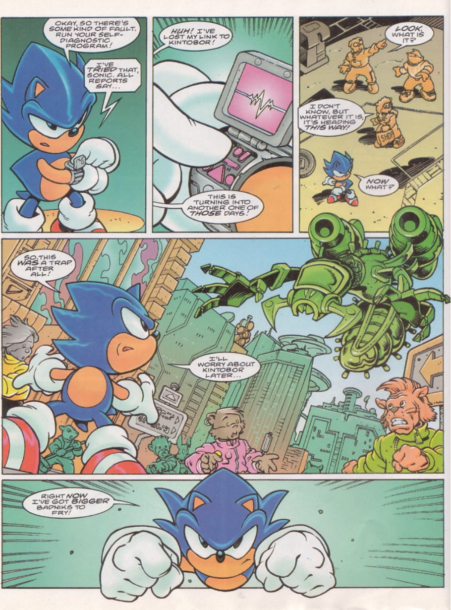 Sonic - The Comic Issue No. 143 Page 5