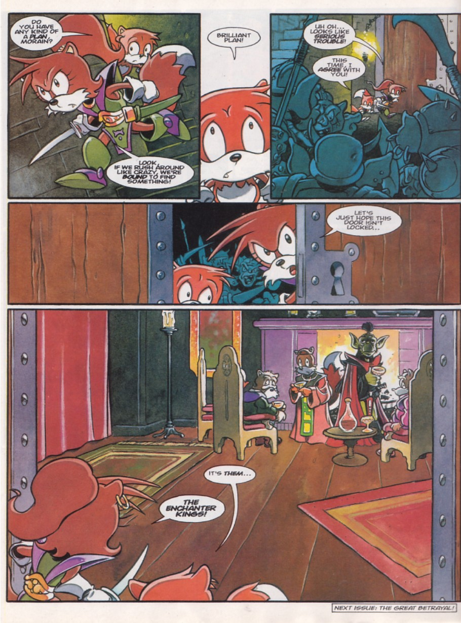 Sonic - The Comic Issue No. 143 Page 19
