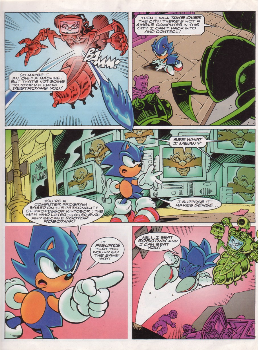 Sonic - The Comic Issue No. 144 Page 2
