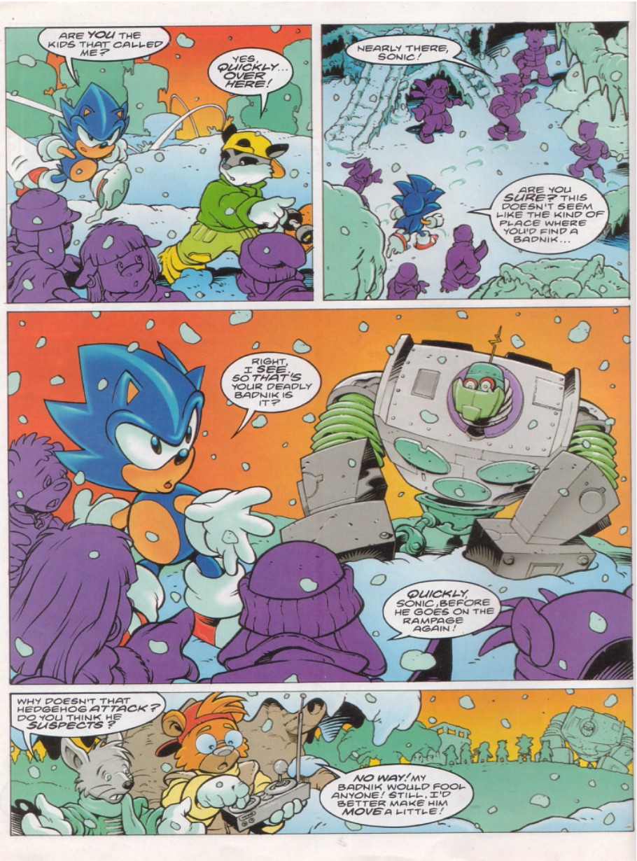 Sonic - The Comic Issue No. 145 Page 2