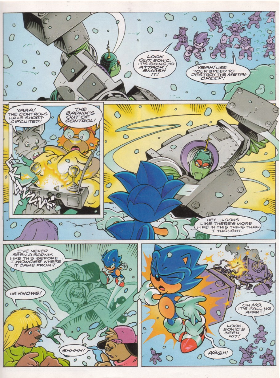 Sonic - The Comic Issue No. 145 Page 3