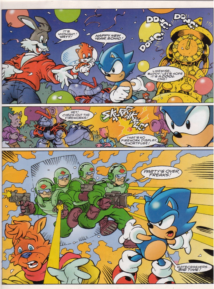 Sonic - The Comic Issue No. 146 Page 2
