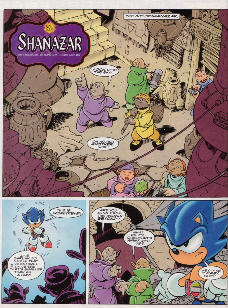 Sonic - The Comic Issue No. 149 Page 1