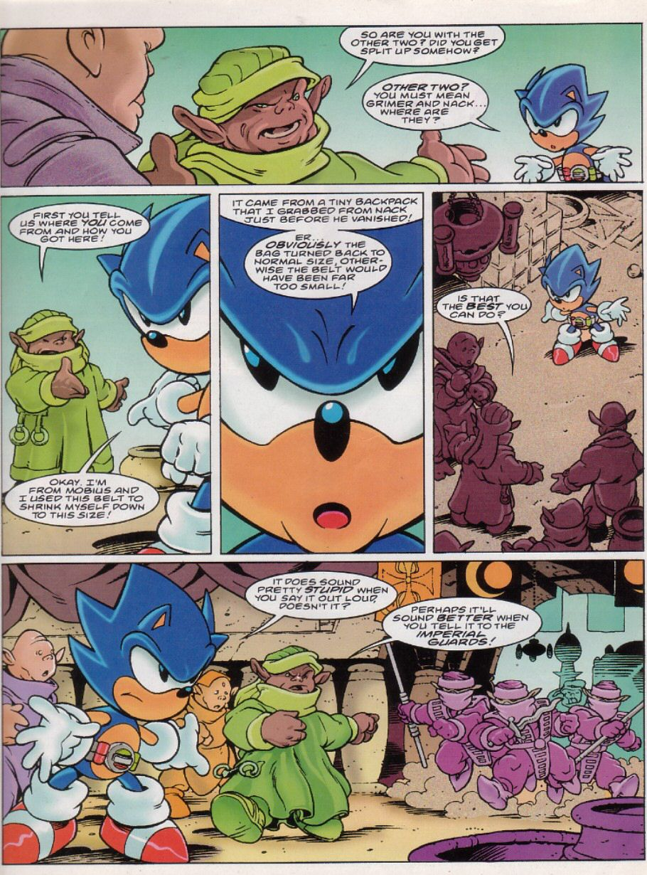 Sonic - The Comic Issue No. 149 Page 2
