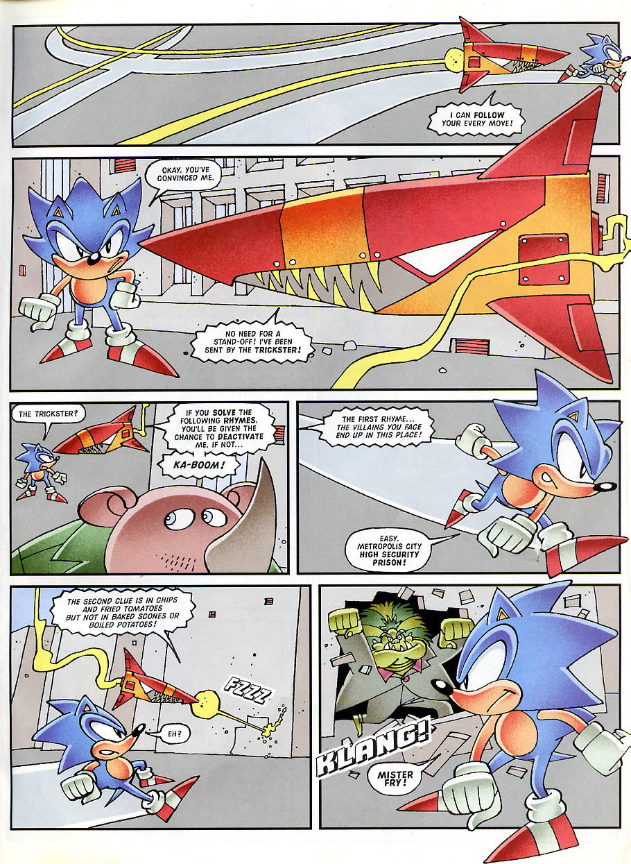 Sonic - The Comic Issue No. 150 Page 9