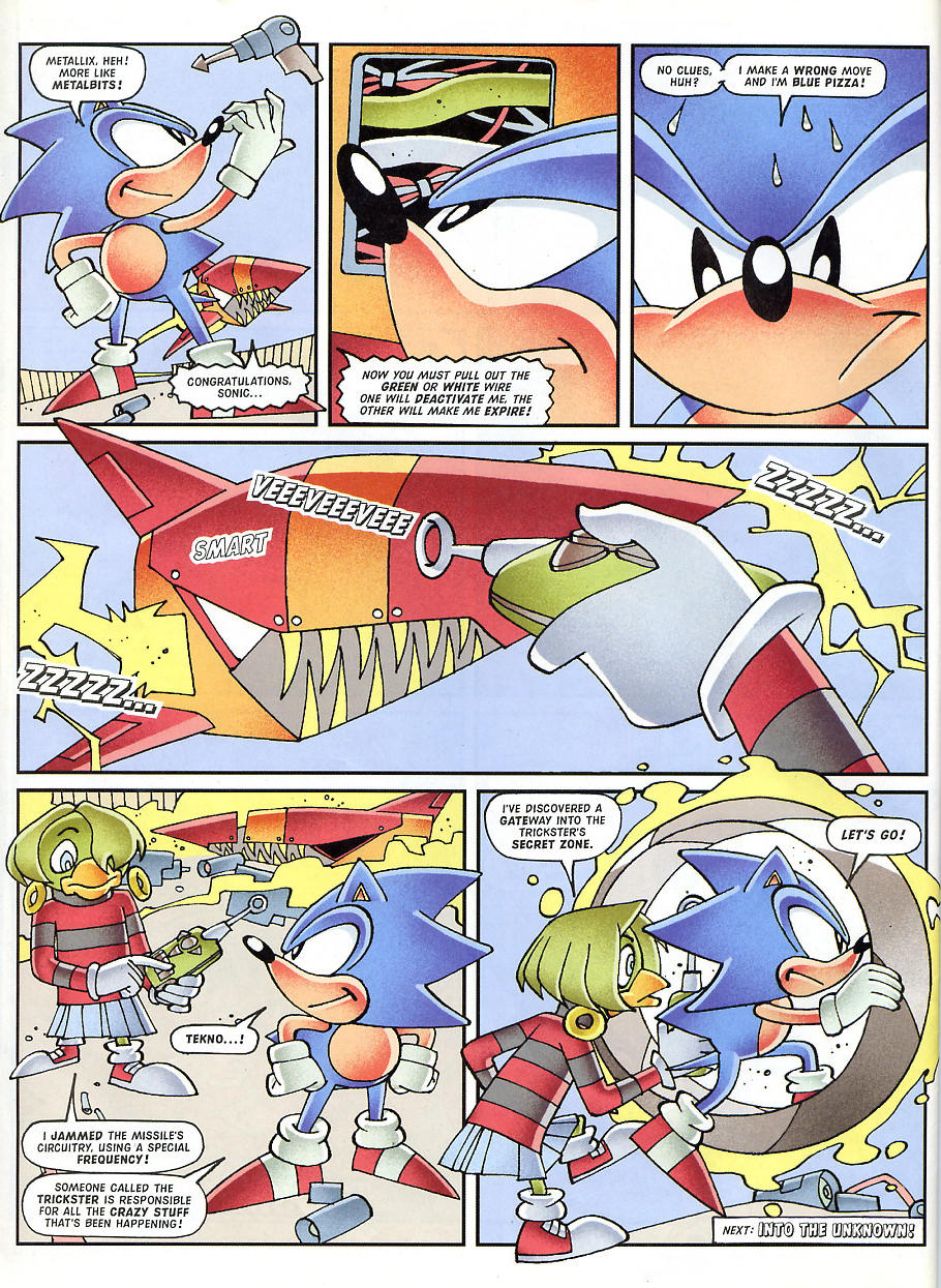 Sonic - The Comic Issue No. 150 Page 12