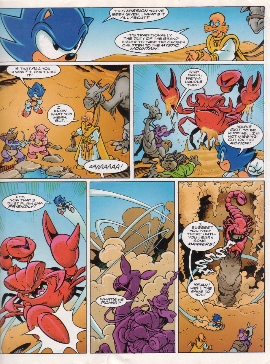 Sonic - The Comic Issue No. 151 Page 2