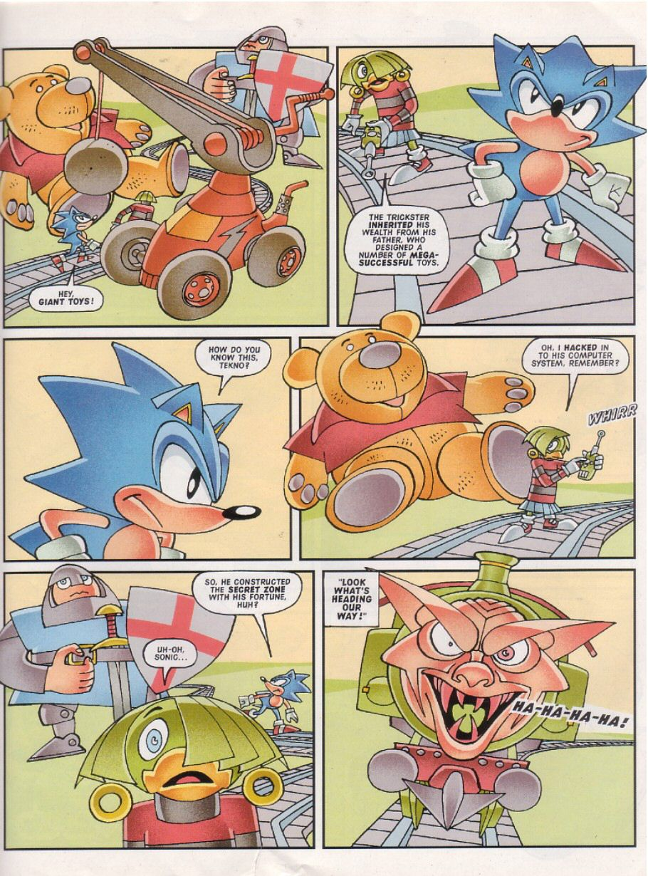 Sonic - The Comic Issue No. 151 Page 9