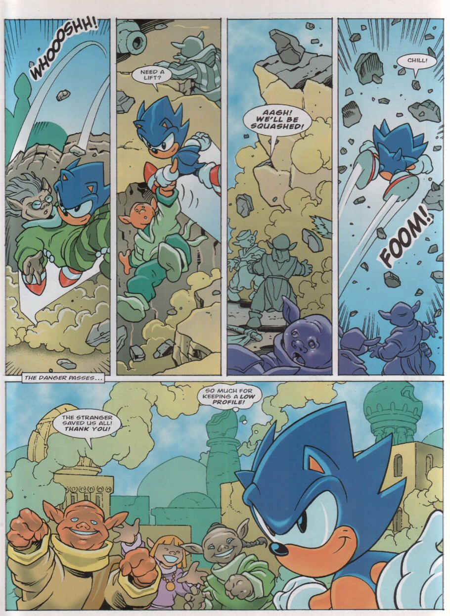 Sonic - The Comic Issue No. 158 Page 2