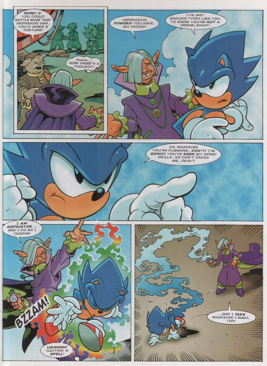 Sonic - The Comic Issue No. 158 Page 3
