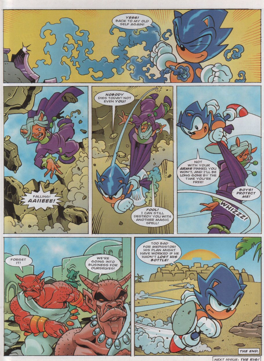 Sonic - The Comic Issue No. 158 Page 7