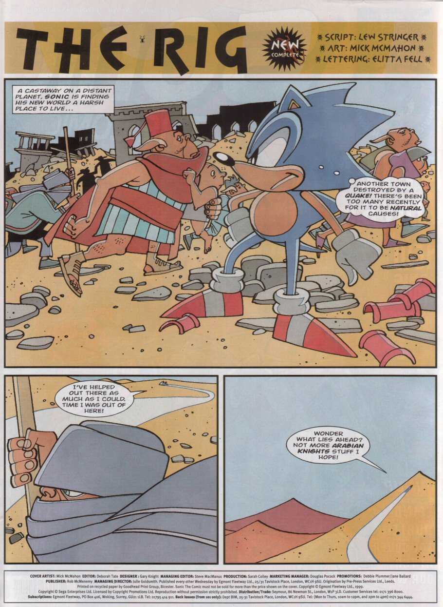 Sonic - The Comic Issue No. 159 Page 1
