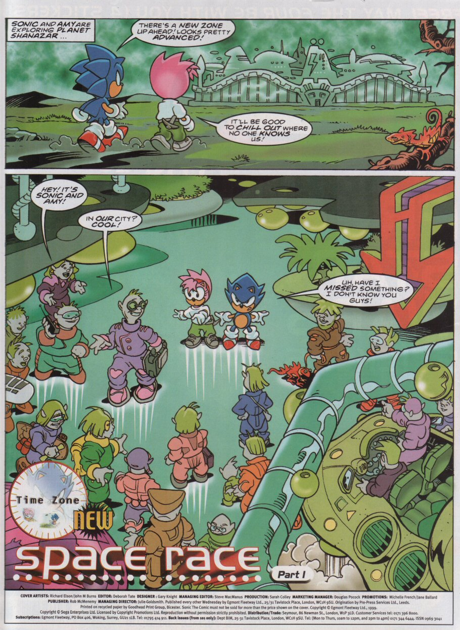 Sonic - The Comic Issue No. 161 Page 1
