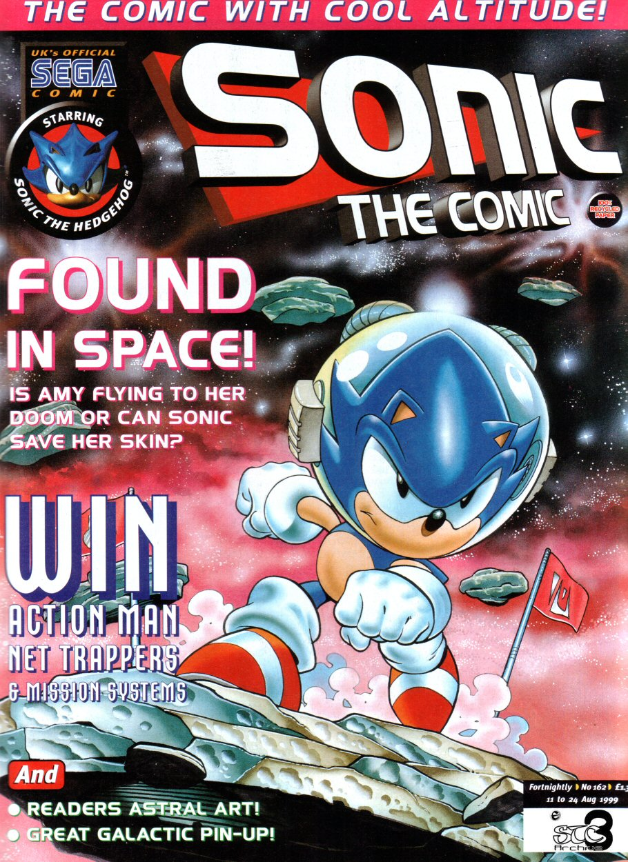 Sonic - The Comic Issue No. 162 Comic cover page