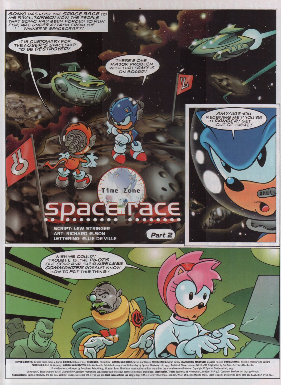Sonic - The Comic Issue No. 162 Page 1