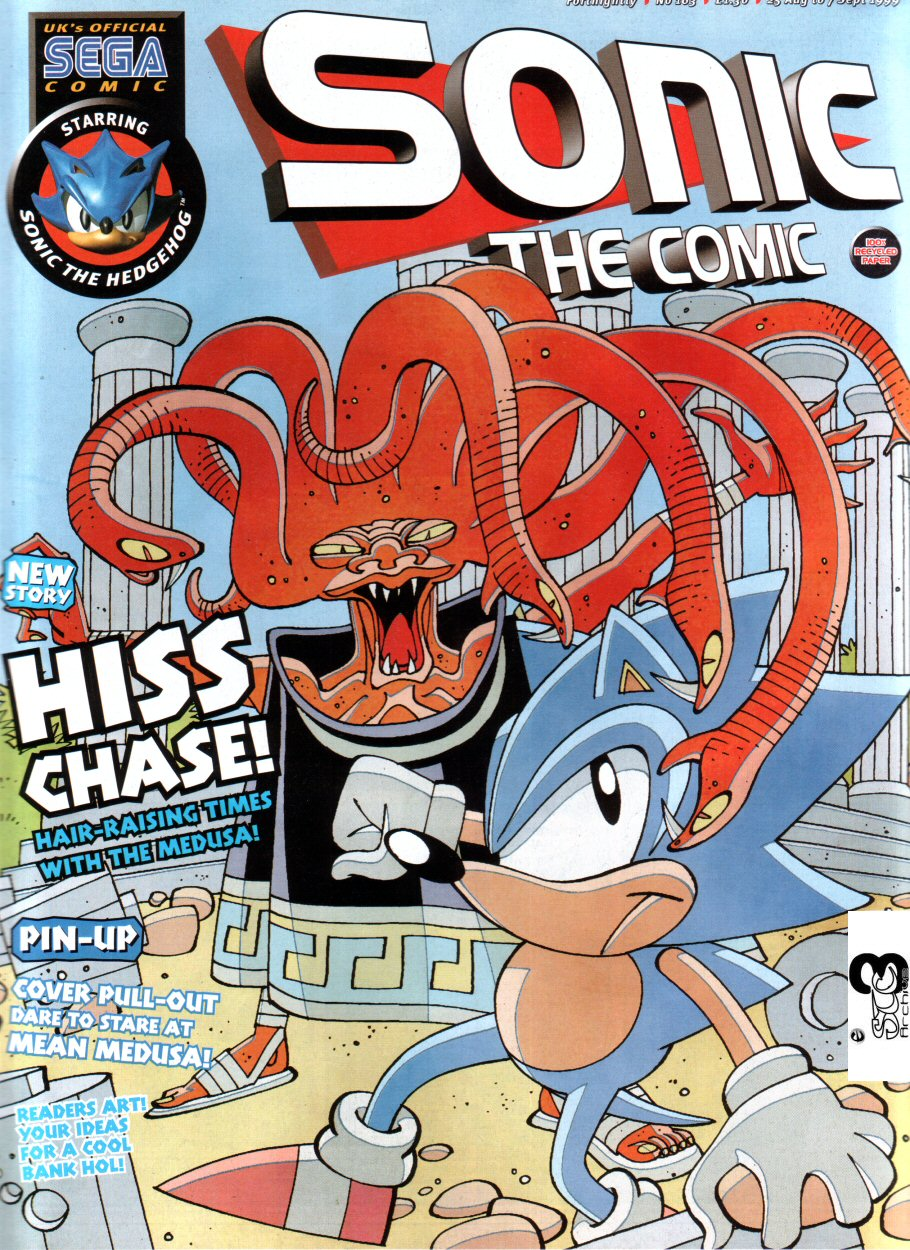 Sonic - The Comic Issue No. 163 Comic cover page