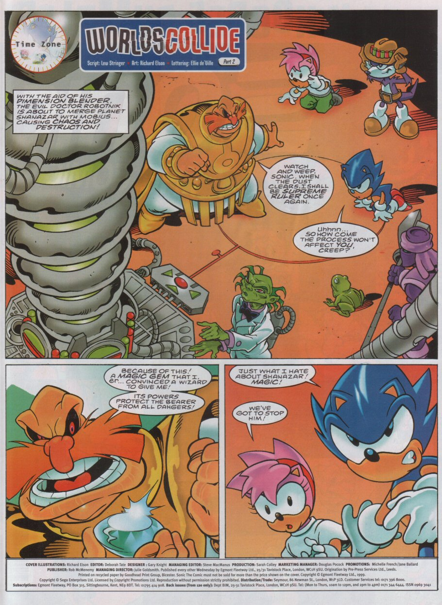Sonic - The Comic Issue No. 165 Page 1