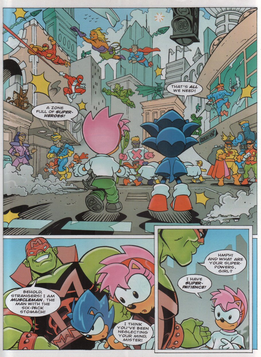 Sonic - The Comic Issue No. 167 Page 2