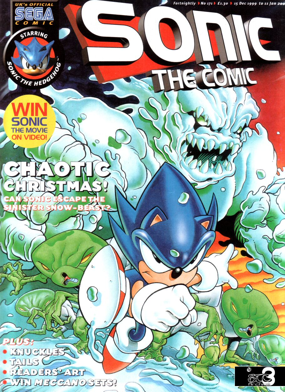 Sonic - The Comic Issue No. 171 Comic cover page