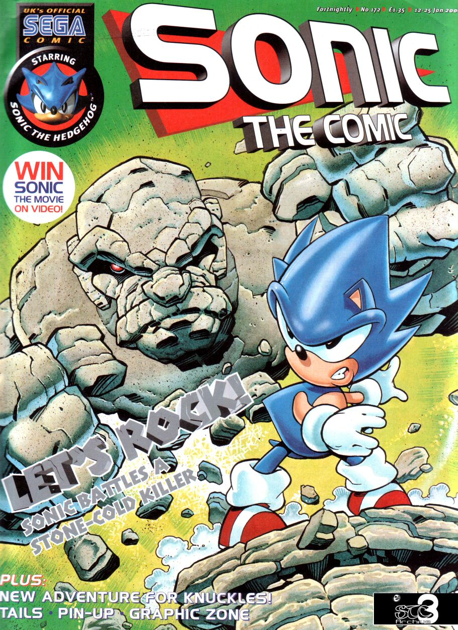 Sonic - The Comic Issue No. 172 Comic cover page