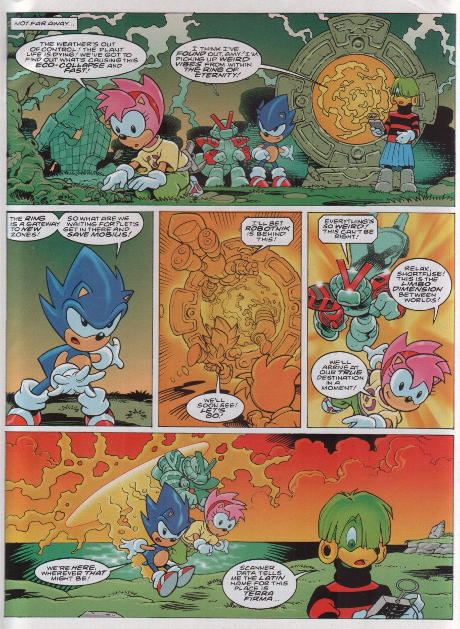 Sonic - The Comic Issue No. 172 Page 2