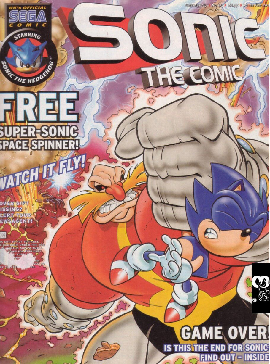Sonic - The Comic Issue No. 174 Comic cover page
