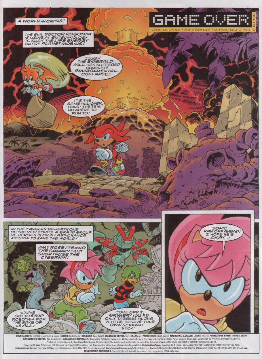 Sonic - The Comic Issue No. 174 Page 1