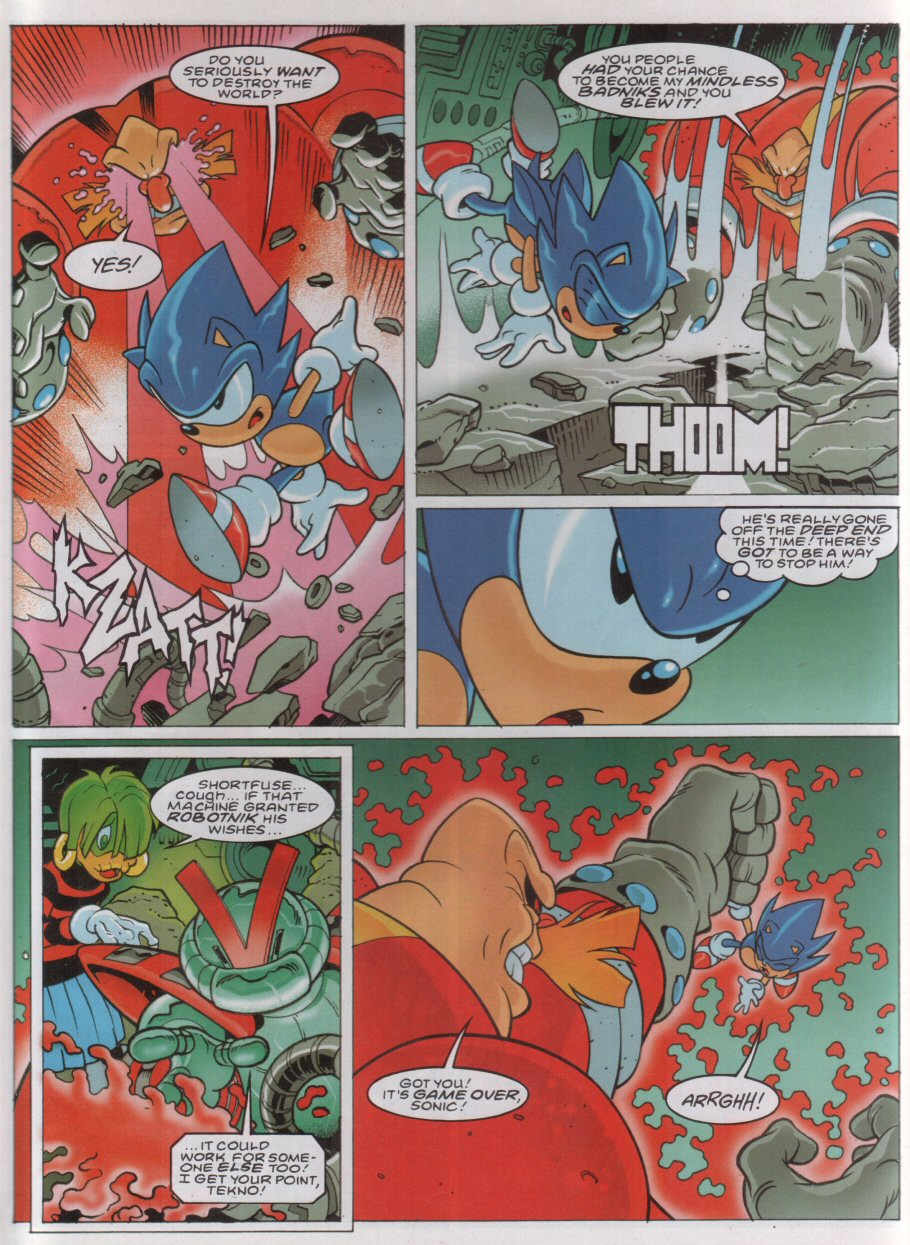 Sonic - The Comic Issue No. 174 Page 4