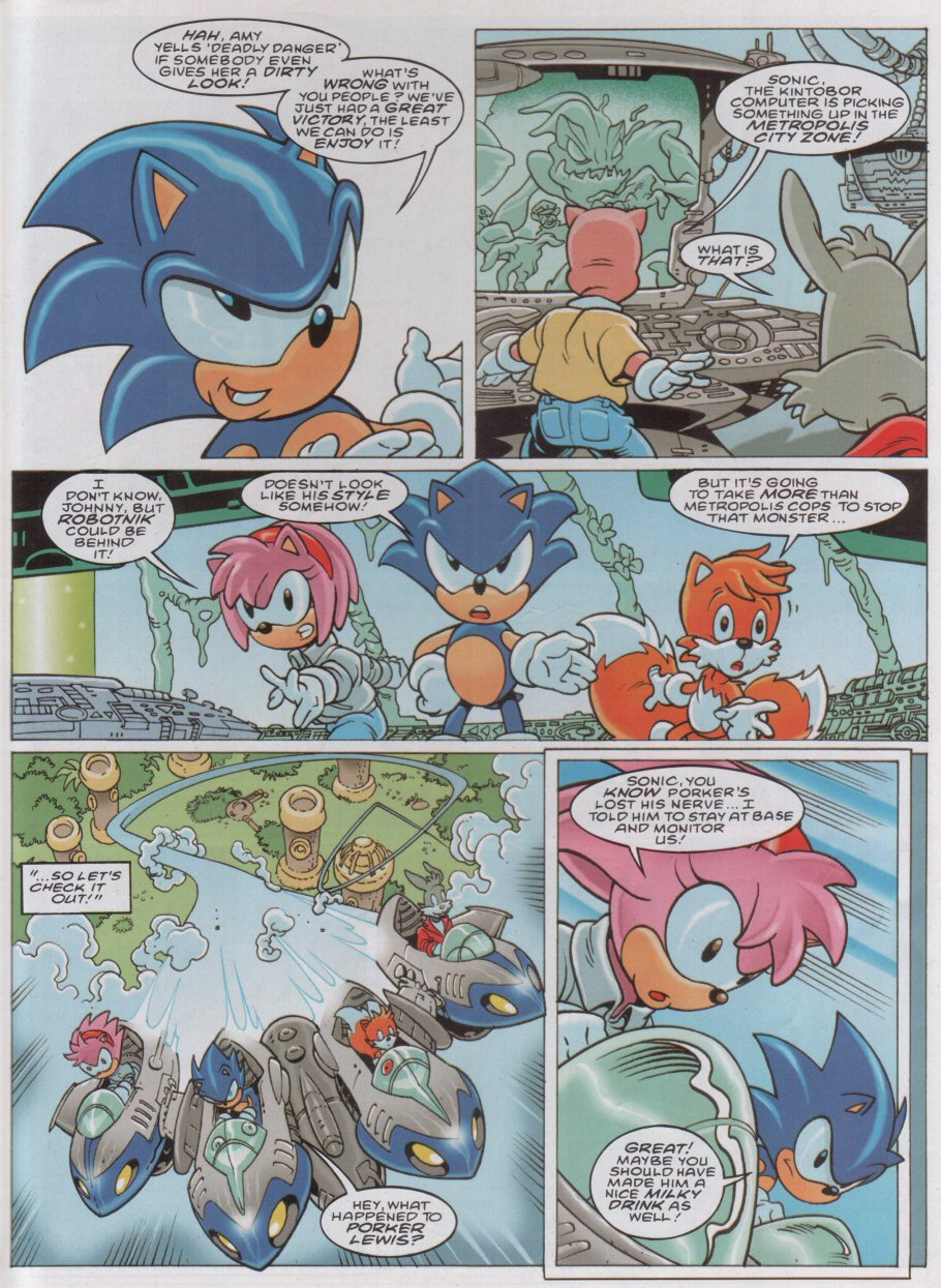 Sonic - The Comic Issue No. 175 Page 3