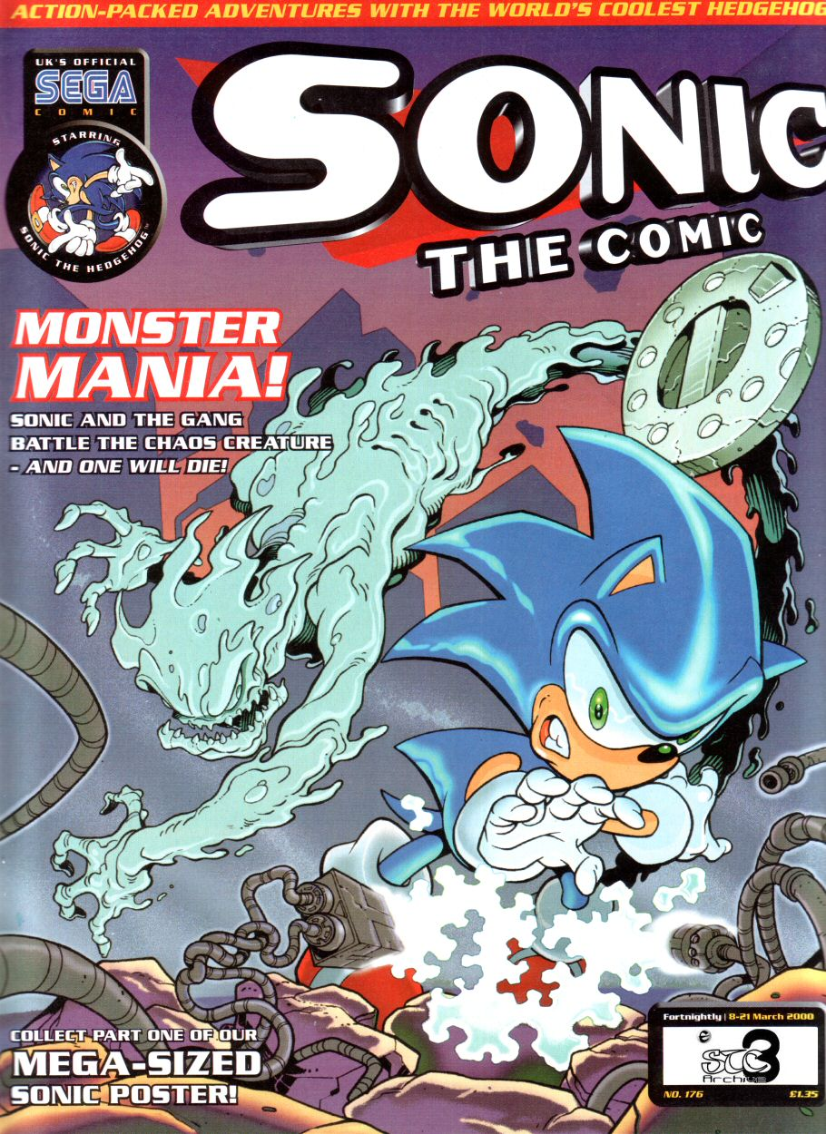 Sonic - The Comic Issue No. 176 Comic cover page