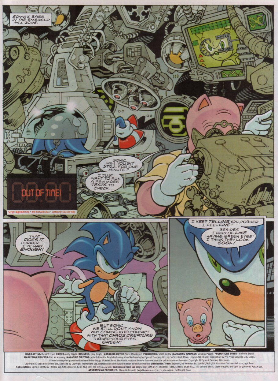 Sonic - The Comic Issue No. 179 Page 1