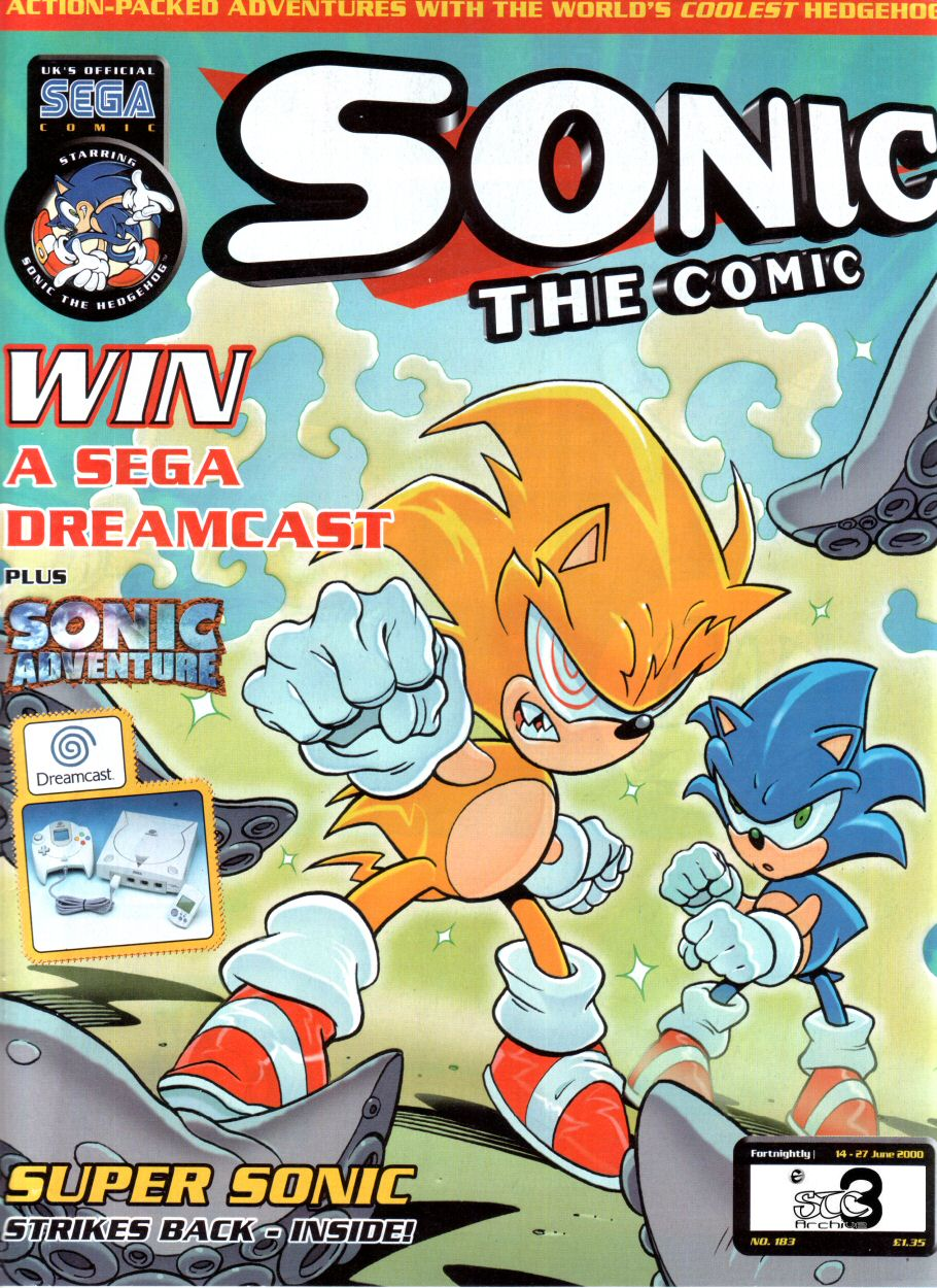 Sonic - The Comic Issue No. 183 Comic cover page