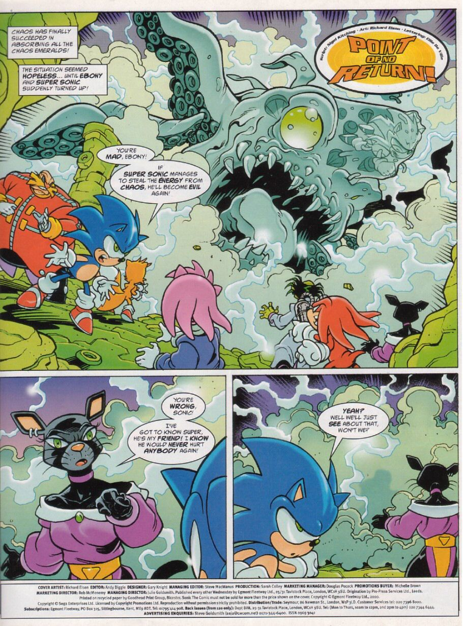 Sonic - The Comic Issue No. 184 Page 2