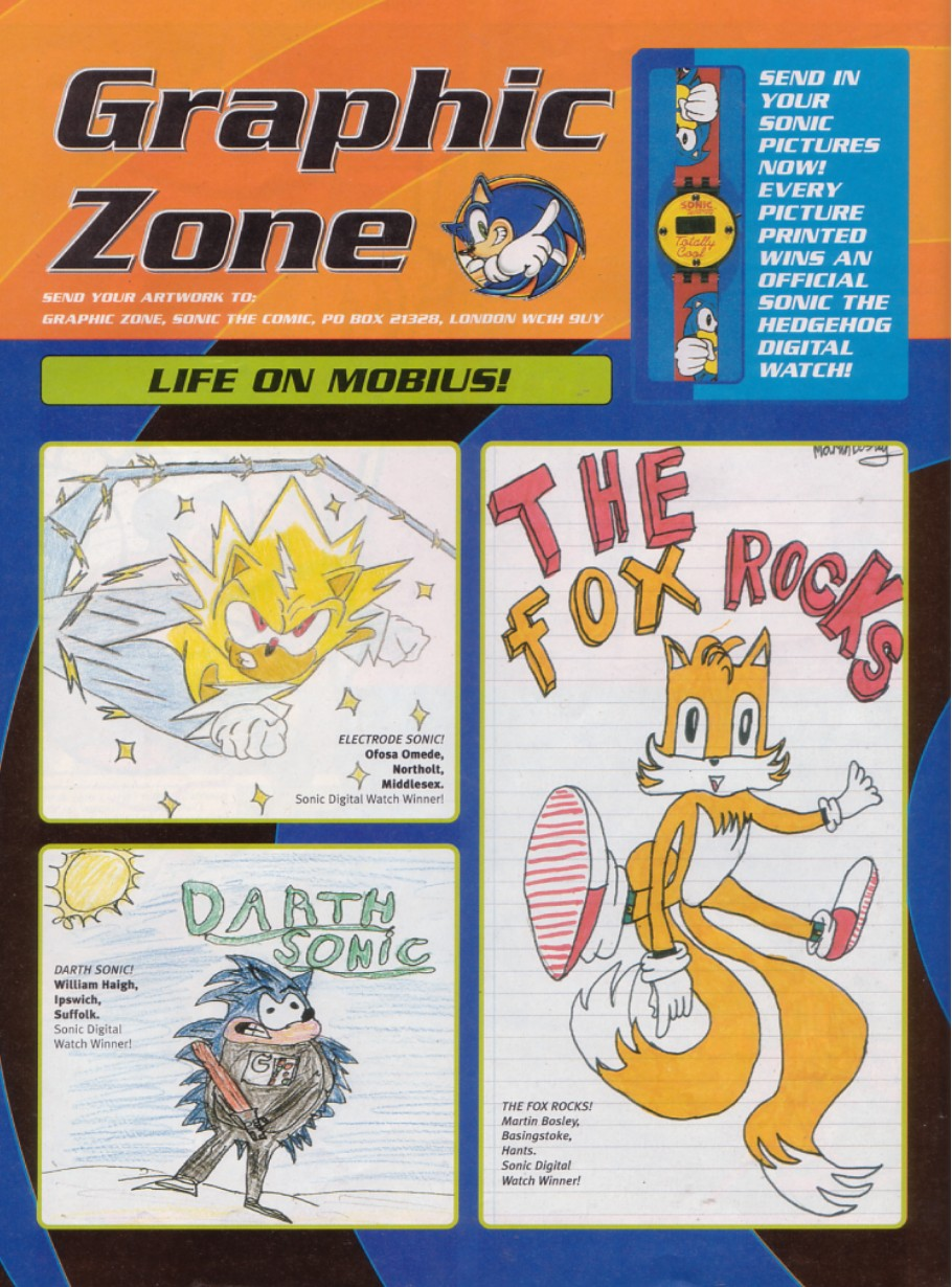 Sonic - The Comic Issue No. 187 Page