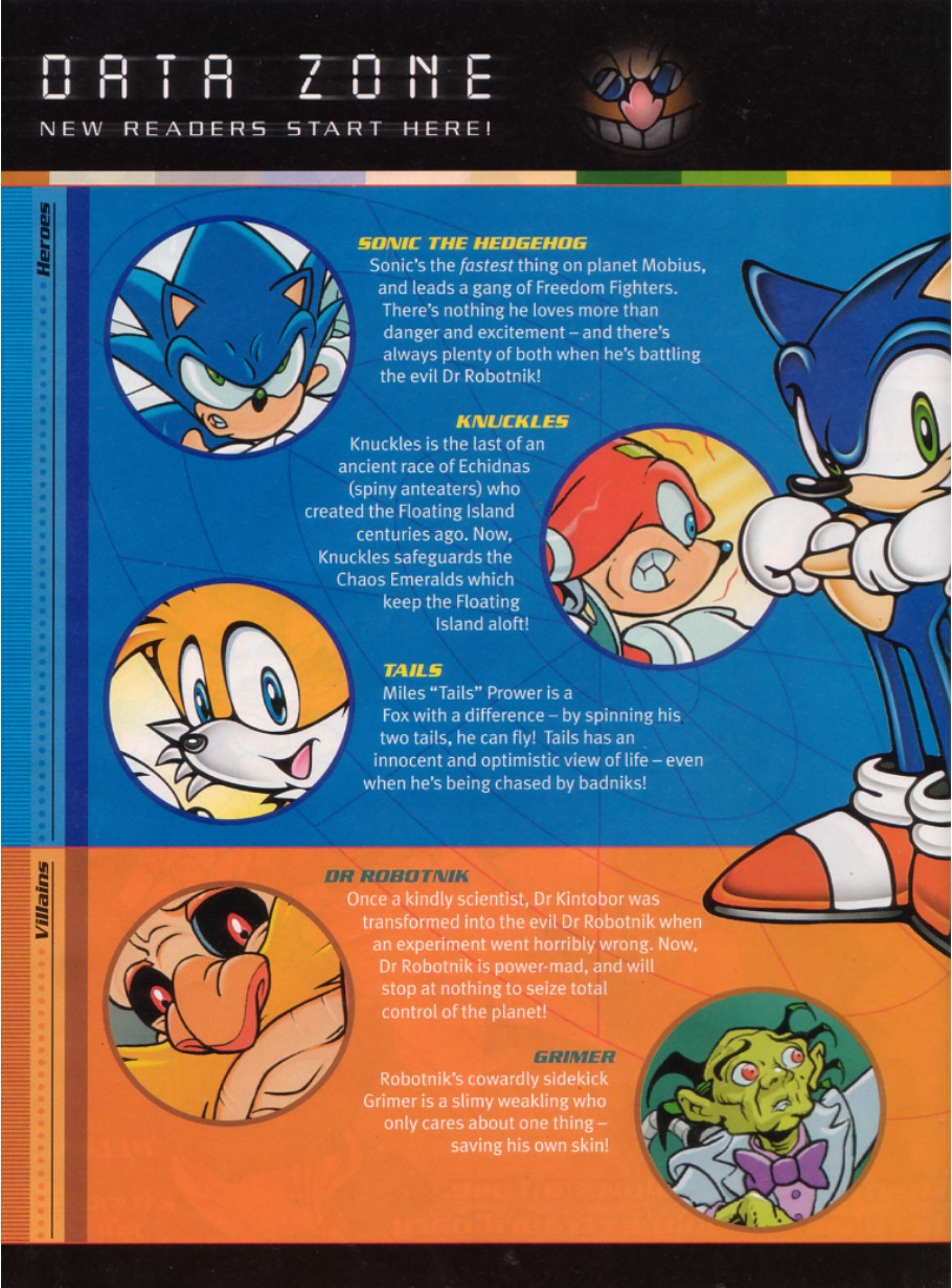 Sonic - The Comic Issue No. 189 Page 1