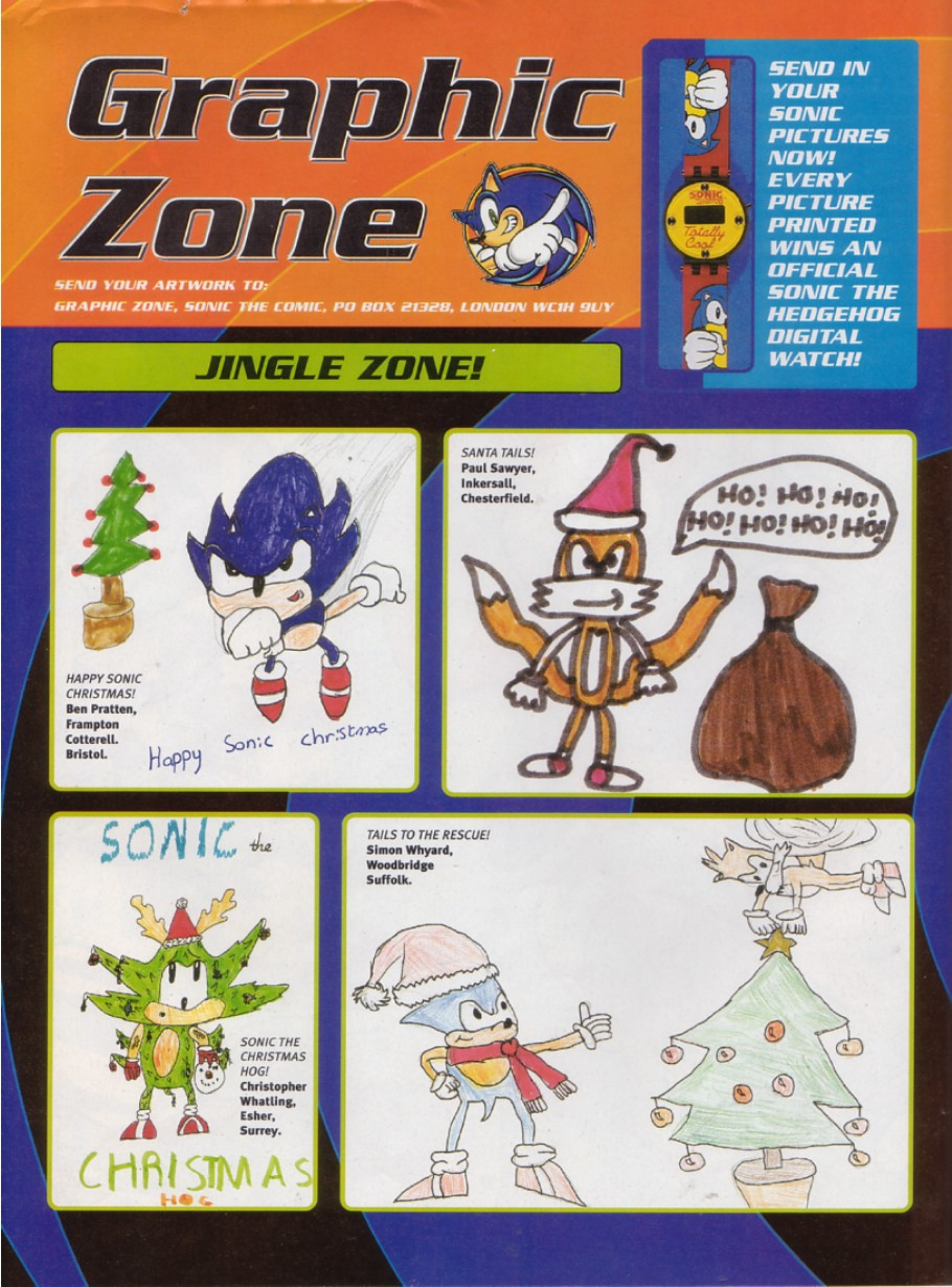 Sonic - The Comic Issue No. 196 Page 1