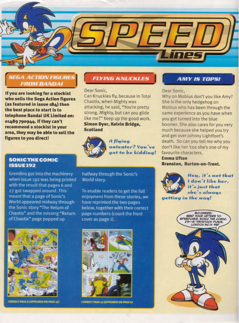 Sonic - The Comic Issue No. 196 Page 3