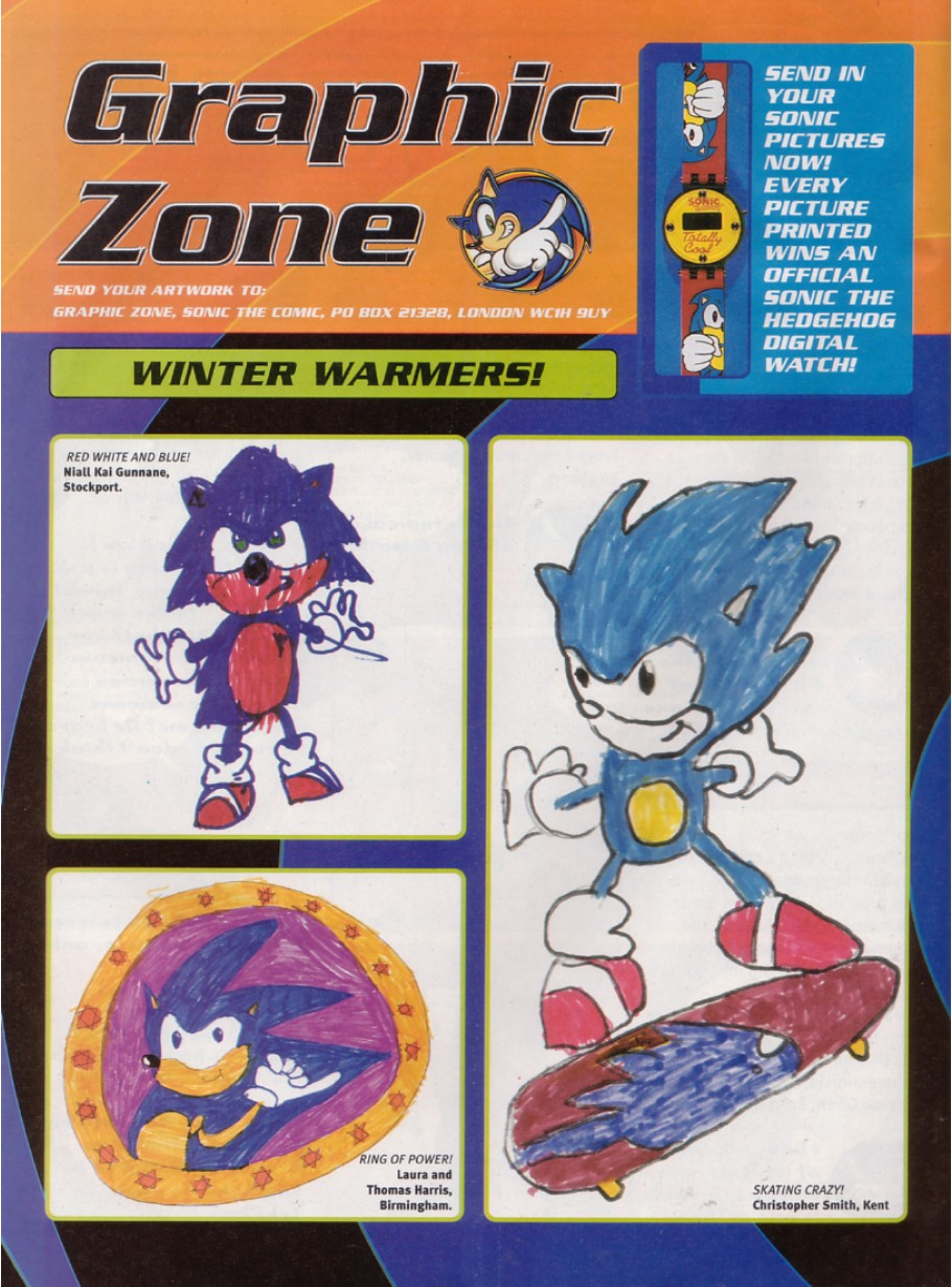 Sonic - The Comic Issue No. 200 Page 2