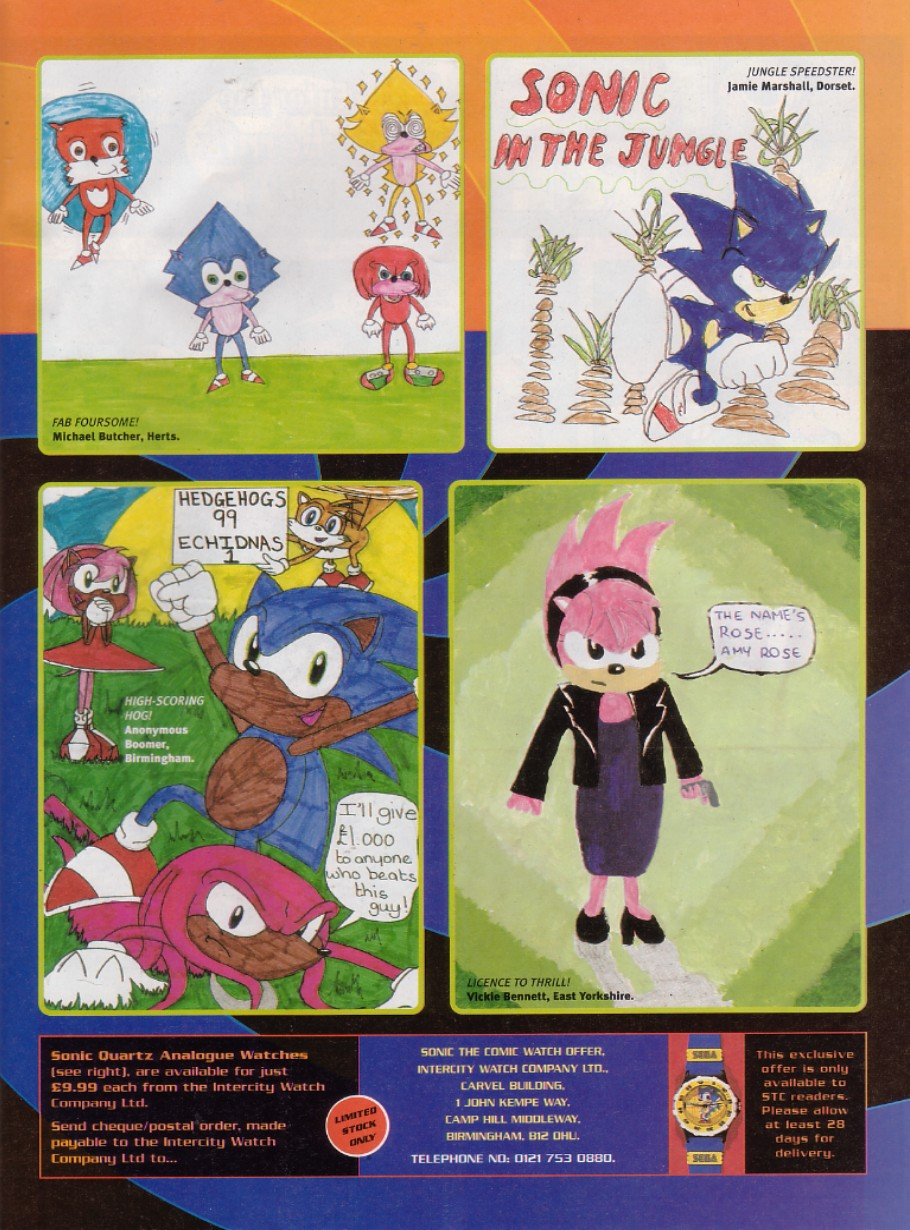 Sonic - The Comic Issue No. 200 Page 3