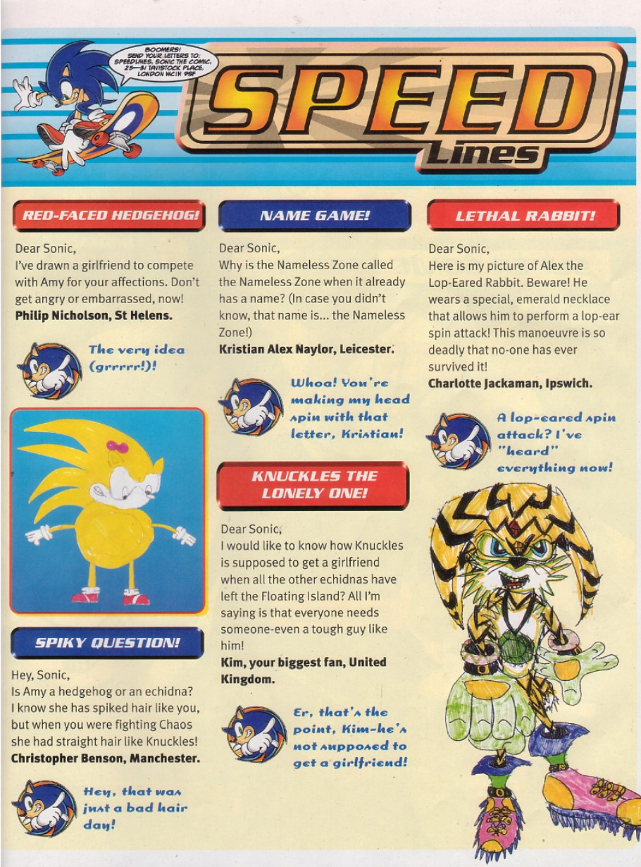Sonic - The Comic Issue No. 205 Page 1