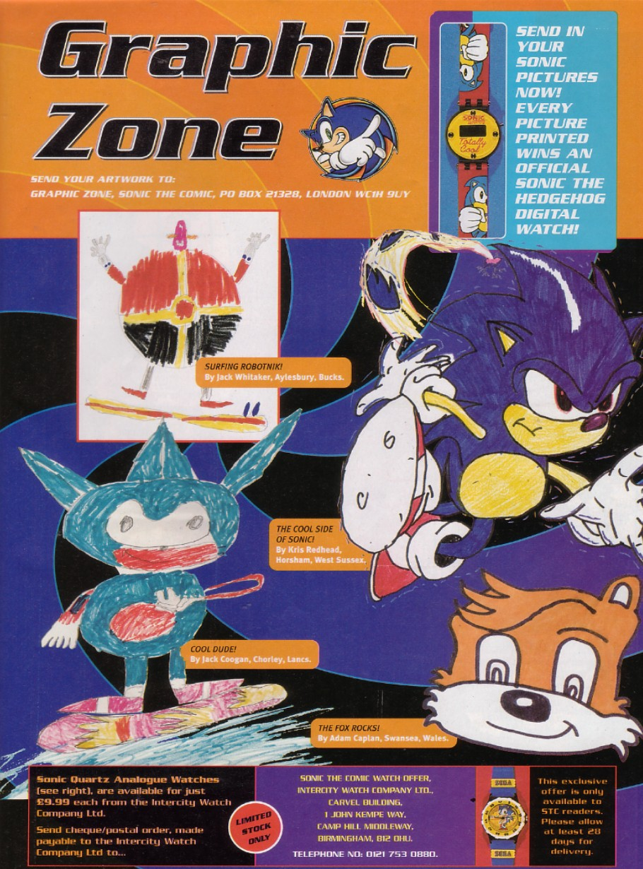 Sonic - The Comic Issue No. 210 Page 1