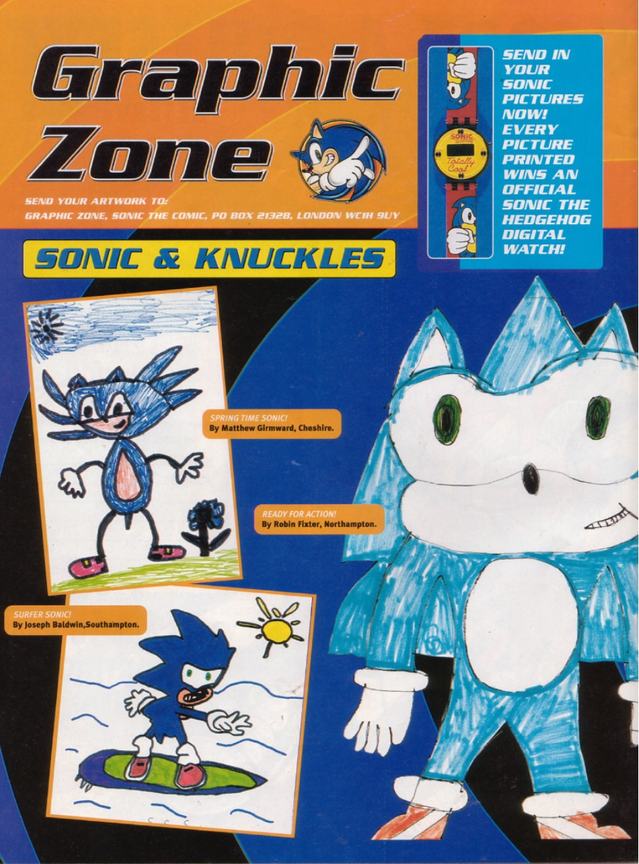Sonic - The Comic Issue No. 211 Page 1