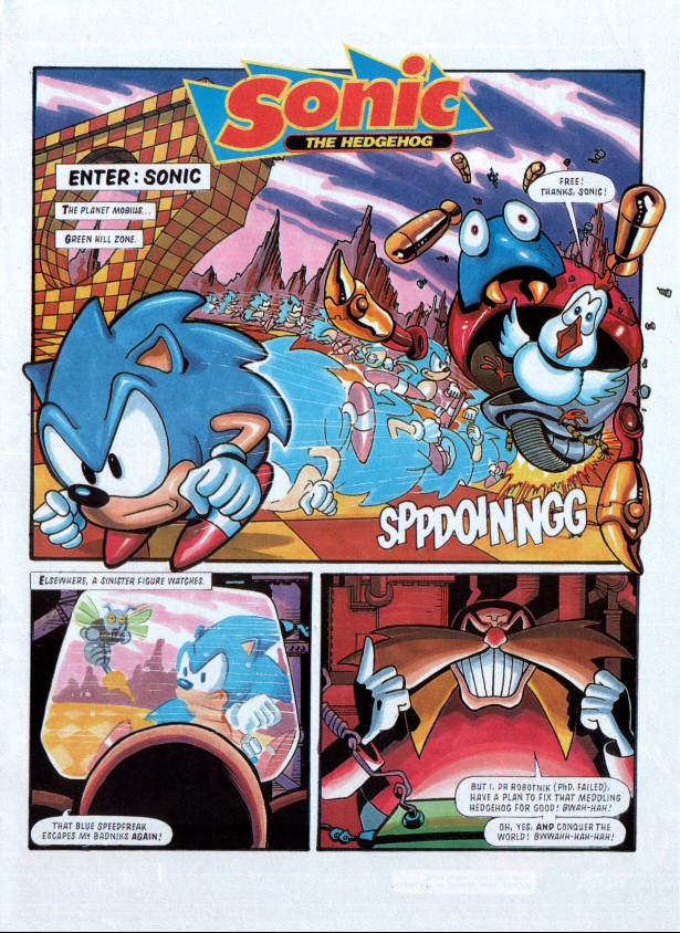 Sonic the Comic Preview Special Page 2