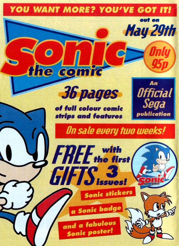 Sonic the Comic Preview Special Page 5
